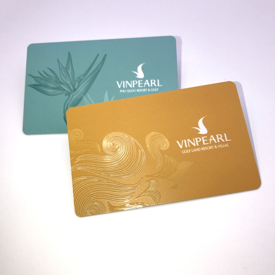 Best Eco-Friendly Embossing Craft Membership Card With Logo Printing - membership cards design