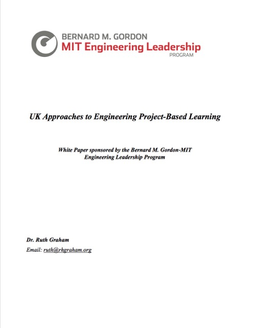 UK Approaches to Engineering Project-Based Learning