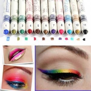 coloured eyeliner pens