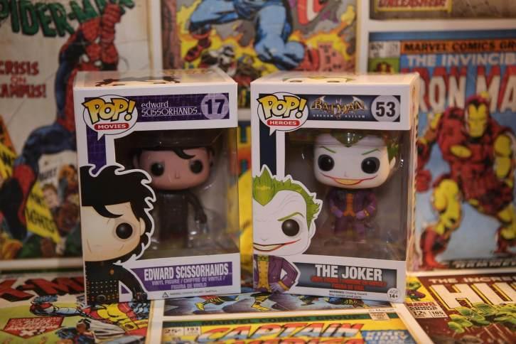Edward and Joker Pop Vinyl