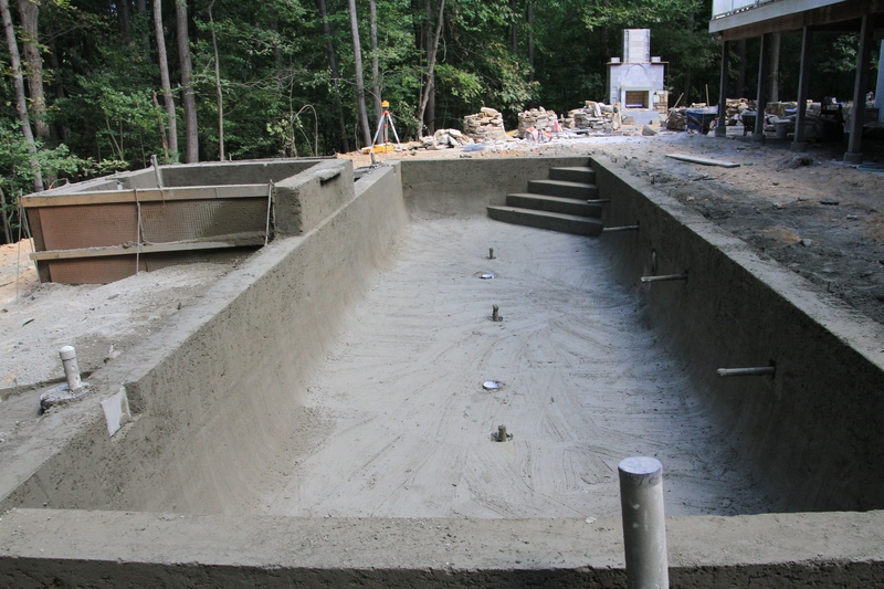 Pool Construction In Maryland A Look Behind The Scenes
