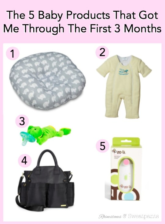 The 5 Baby Products That Got Me Through The First 3 Months