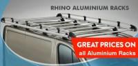 Rhino Roof Racks | Rhino Roof Bars | Van Roof Racks