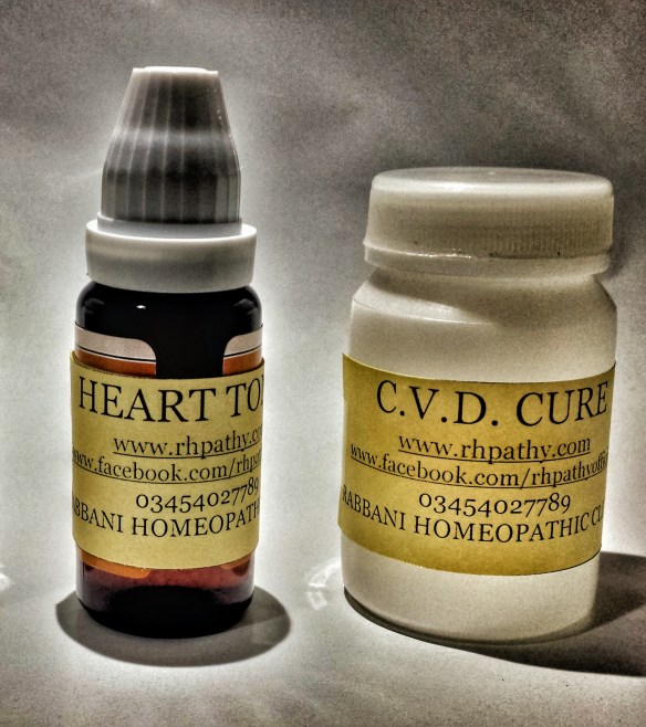 homeopathic medicine for heart and circulatory system