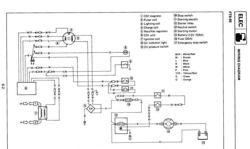 2010 Yamaha Marine Wiring Diagram Wiring Diagram Libraries