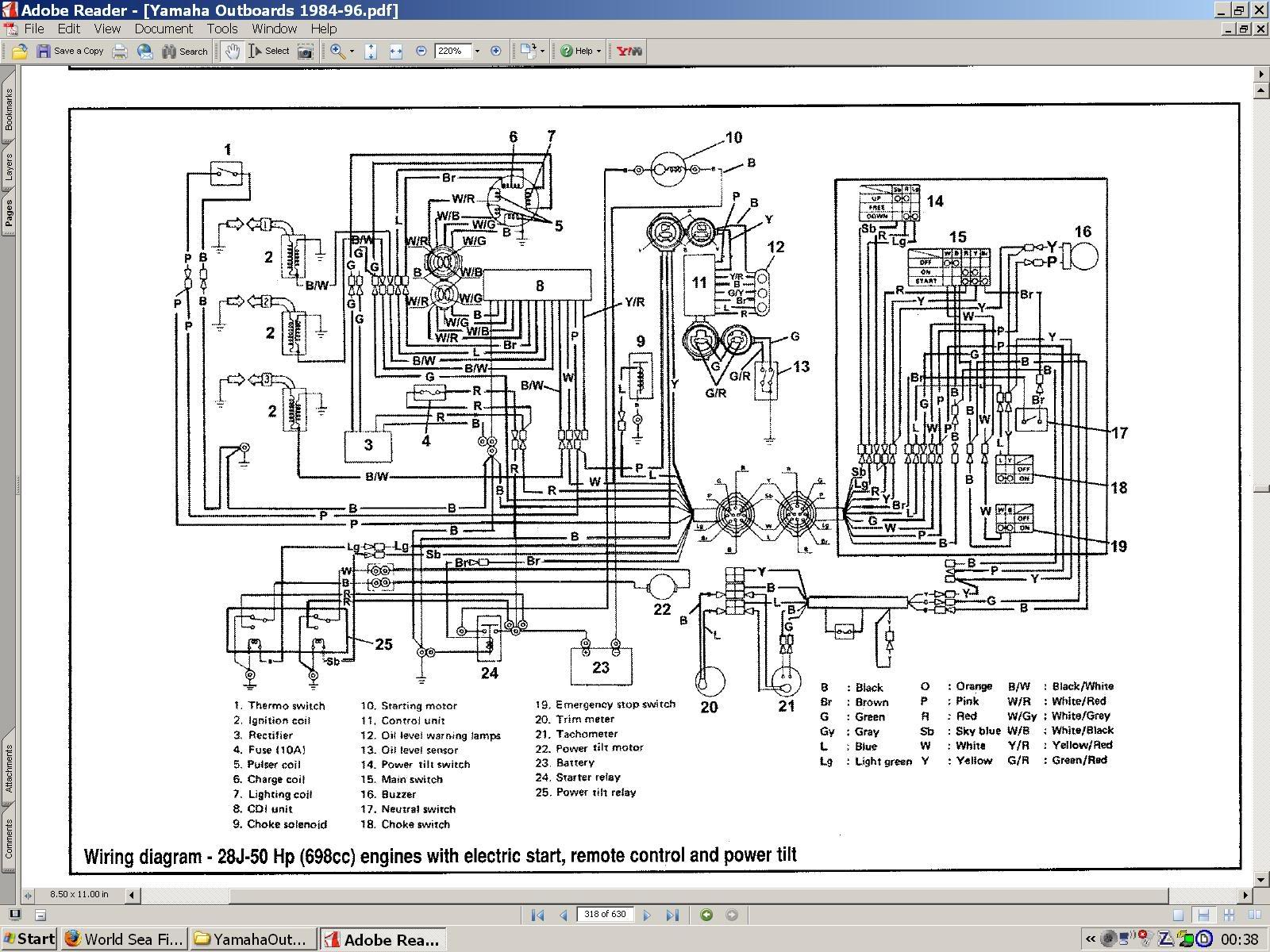 yamaha digital gauge wiring diagram