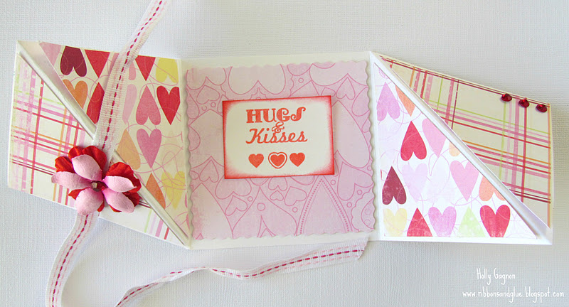 Valentine\u0027s Multi-Fold Card Tutorial