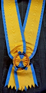 #AU016 - Grand Cross Order of Iron Crown sash