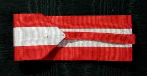 #AU026 - Military Order of Maria Theresa - Ribbon for Commander type 2