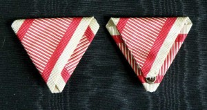 #AU051 - Austrian War ribbon type 2.