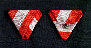 #AU065 – Military Order of Maria Theresa, ribbon for Knight Cross