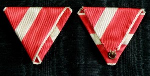 #AU327 - Republic of Austria, Order of Merit - Ribbon for Merit medal