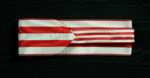#CR022 - Order for Merit 1st class neck ribbon (40mm)