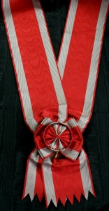 #KYU011 - Grand Cross Order of the White Eagle type Huguenin sash