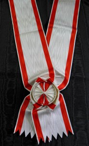 #MO011 - Order of Danilo I, I class (Grand Cross) sash