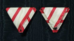 #MO059 - Montenegro - Ribbon for Medal'for Bravery - 1862