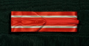 #ORHU055 - Hungary Republic, Order of Merit, Ribbon for Commaders Cross