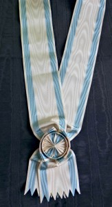 #SE007 - Order of the Saint Sava - Grand cross sash (Grand Croix) - type 1 for the early types of the Order