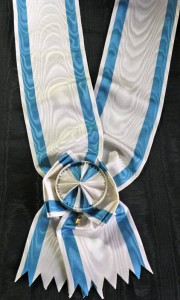 #SE008 - Order of the Saint Sava Grand cross sash type 2