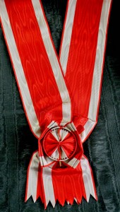 #SE016 - Order of the White Eagle Grand cross sash type 2
