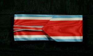 #SE020 - Grand Officer Order of Takovo neck ribbon