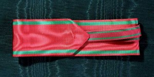 #TR011 - Turkey, Order of Medjidie - Ribbon for Grand Officer and Commander