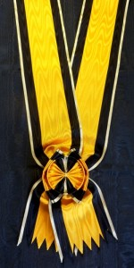 #BG010 - Bulgaria, Order of Military Merit Grand Cross sash