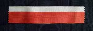 #ORFR011 - Ribbon composed from colors of the French Order of the Legion of Honor