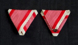 #AU053 – Austrian War ribbon type 4