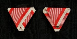 AU053 – Austrian War ribbon type 4.