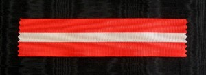 #IT022 - Italy, Order of Italian Crown, ribbon for Knight's Cross