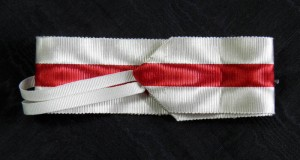 #ORSP009 - Spain, Red Cross Order medal 1931-1939, ribbon for Commanders Cross
