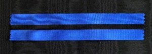 #BE015 - Belgium, Order of Leopold II, ribbon for knights cross