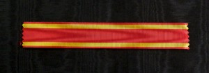 #SP010 - Order of San Fernando, ribbon for Knight