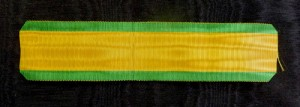 #ORFR019 - France, Ribbon for Military Medal (Medaille Militaire)