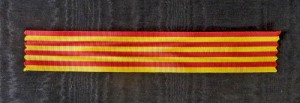 #SP021 - Spain, ribbon for 1898. Philippines campaign medal