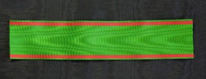 #TR030 - Turkey, Order of Osmania (Osmali) - Ribbon for Officer's Cross