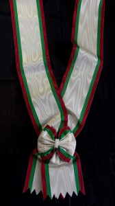 #BG008 - Bulgaria, Order of Civil Merit, Grand Cross sash, type 2