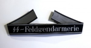 "#GTR078 – Germany, Third Reich - A Waffen-SS Cufftitle for Enlisted ""SS-Feldgendarmerie"""