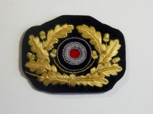#GTR095 – Germany, Third Reich - Army Officer Visor Cap Insignia