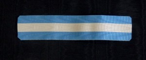 #SP004 – Spain, Order of Charles III, ribbon for Officer's and Knight's Cross