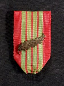 #ORFR012 – France, War Cross (Croix de guerre) 1939 – 45 with original bronze palm , type 2