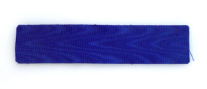 #GST013 – Germany, Prussia, Prussian blue ribbon for long service decorations and medals (35 mm), type 1