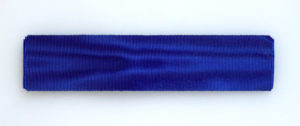 #GST014 – Germany, Prussia, Prussian blue ribbon for long service decorations and medals (35 mm), type 2