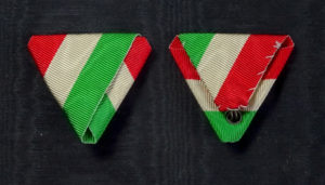 #HU036 – Hungary, National tricolora ribbon, type 2