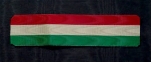 #IT041 – Italy, Republic, National tricolora ribbon, type 2