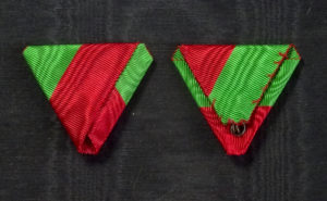 #ORTR012 – Turkey, ribbon for Liakat Medal, Austrian style