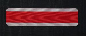 #ZA005 - Zanzibar, Order of the Brilliant Star, ribbon for Knight's cross