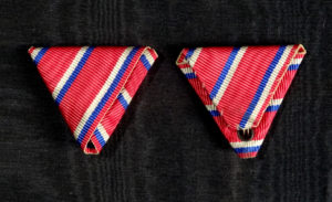 #CR065 – Ribbon for 5th December Commemorative Medal