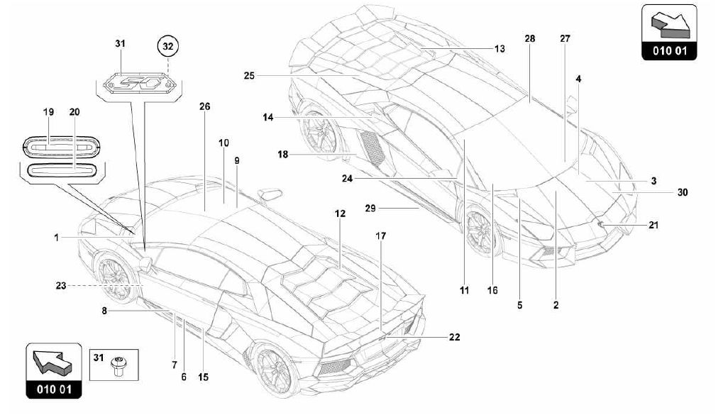 lamborghini engine diagrams